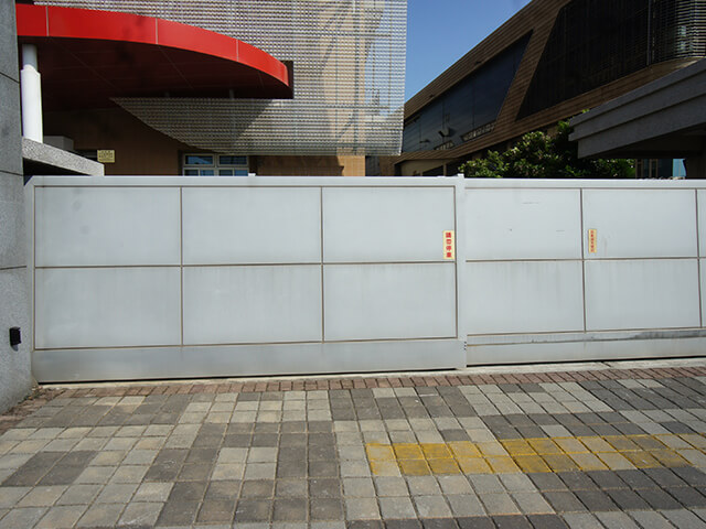 Painted Stainless Steel Electric Gate
