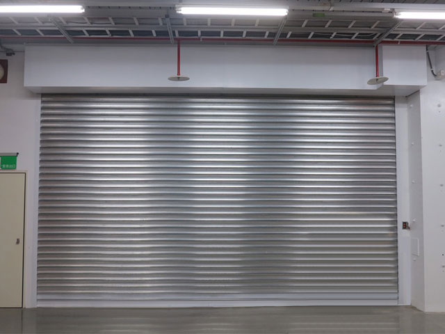 60A Stainless Steel Fire-rated Roller Shutter