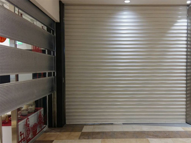 60A Painted Galvanized Steel Fire-rated Roller Shutter