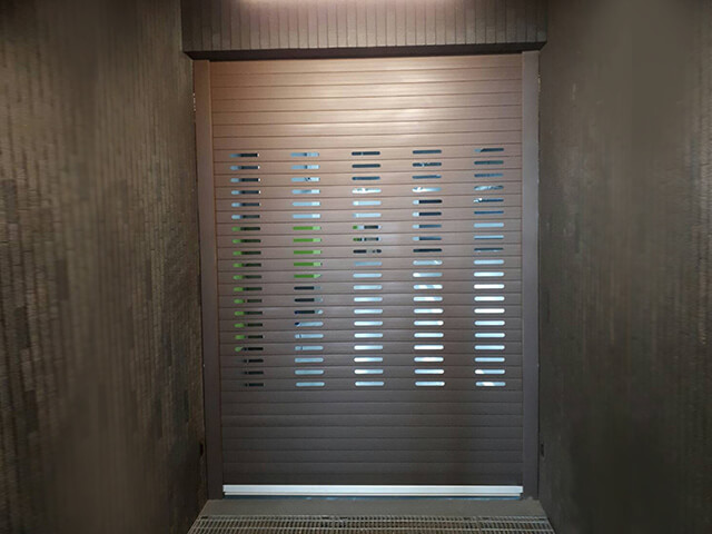 Aluminium High-Speed Roller Shutter
