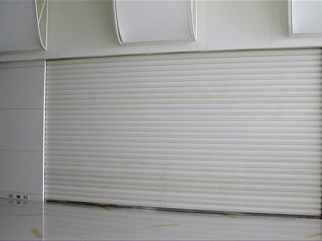 Painted Resin Roller Shutter